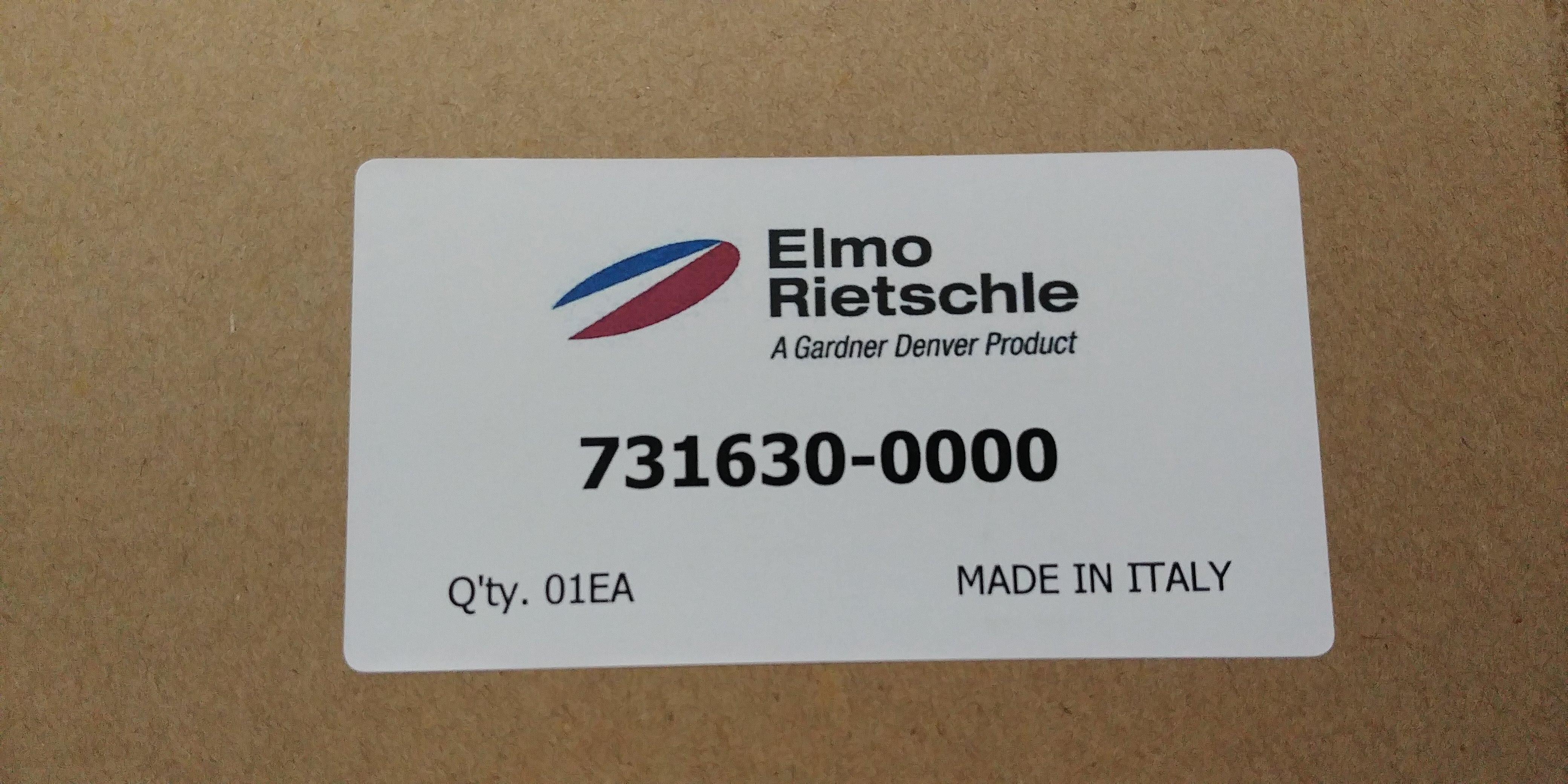 Lọc tách dầu Elmo Rietsch